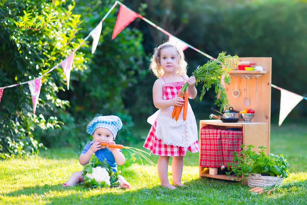 creative gardening ideas for kids